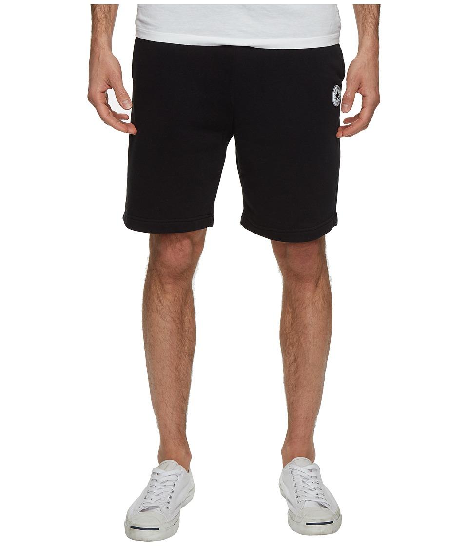 Converse Core Reflective Fleece Shorts (Black) Men