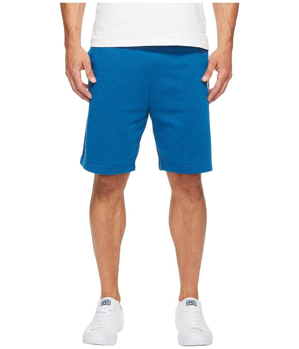 Converse Core Reflective Fleece Shorts (Soar Blue) Men
