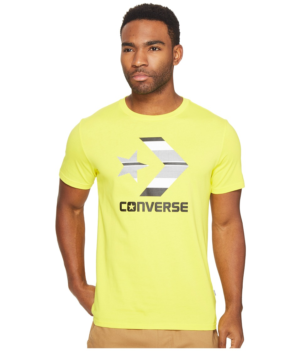 Converse - Star Chevron Stripe Fill Tee (Soar Blue) Men's T Shirt