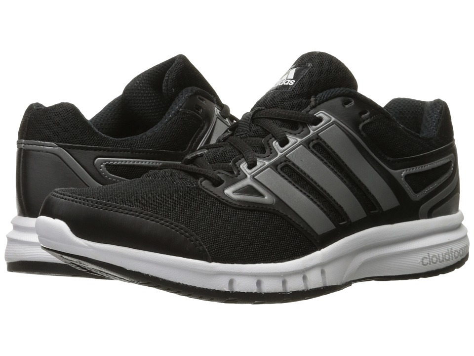 adidas - Galactic Elite (Black/Iron Metallic/White) Men's Shoes