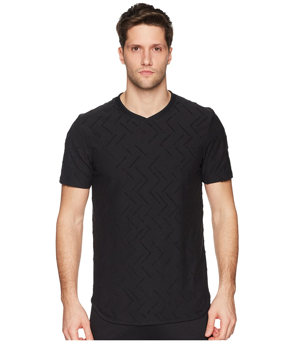 adidas Jacquard Tee (Black) Men