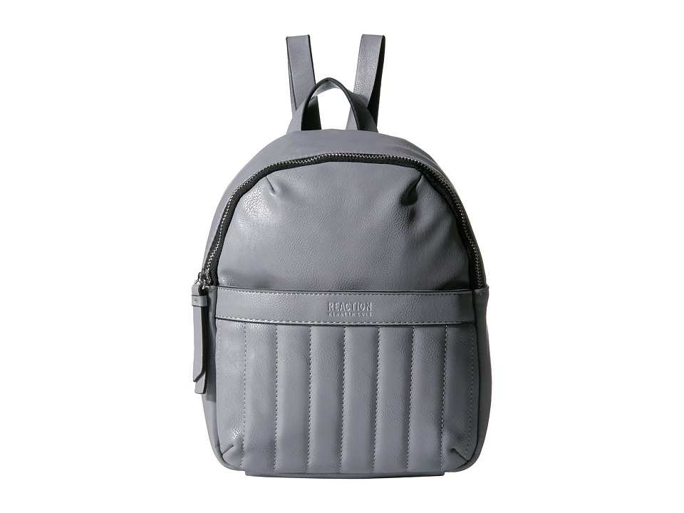 Kenneth Cole Reaction - Call For Back Up Mini Backpack w/ RFID (Foggy Grey) Backpack Bags