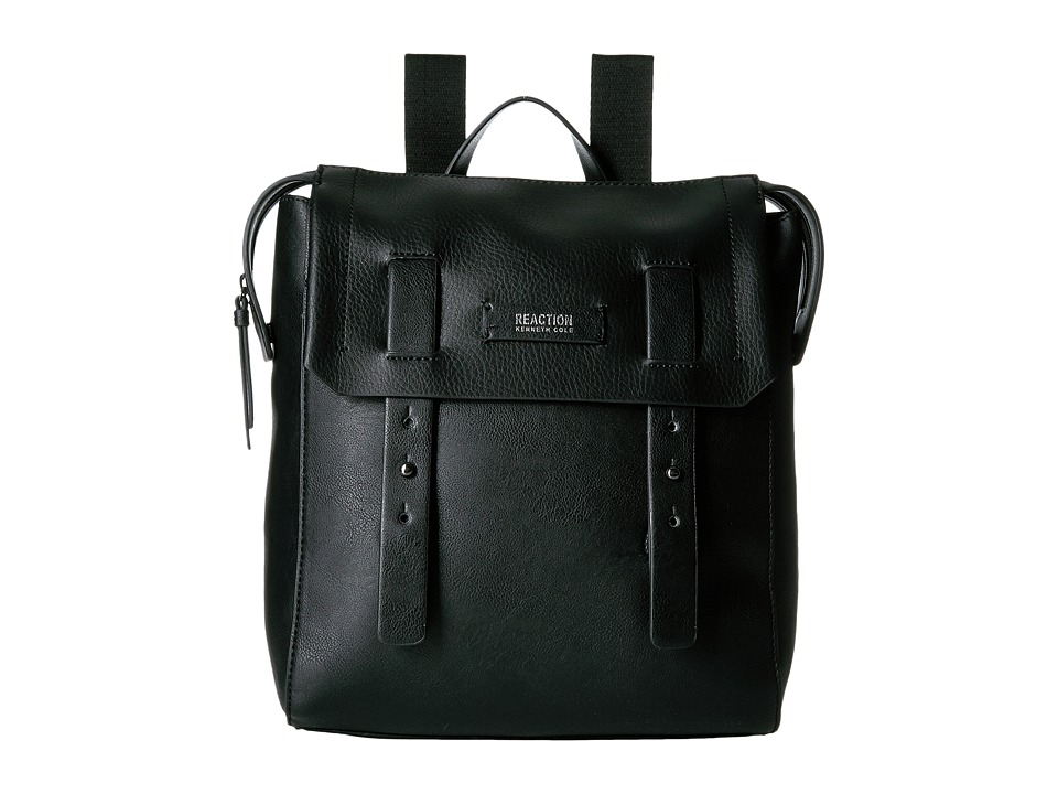 Kenneth Cole Reaction - Pull Through Backpack (Black) Backpack Bags