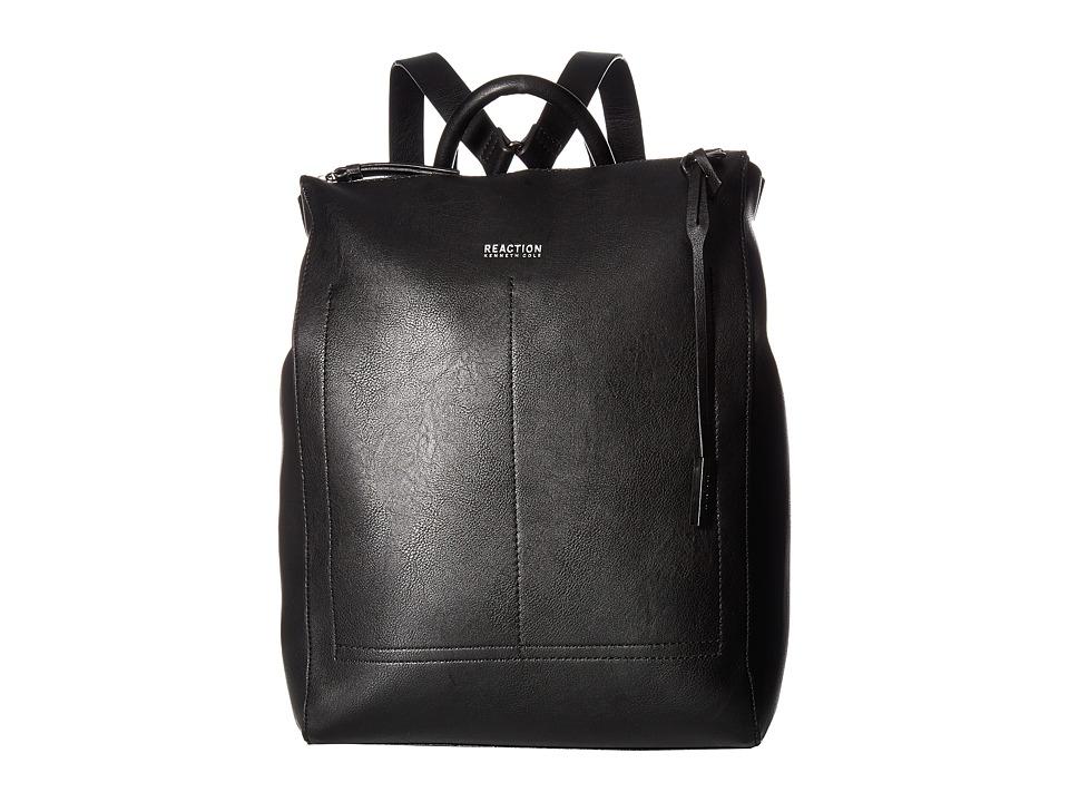 Kenneth Cole Reaction - Linebacker Backpack (Black) Backpack Bags
