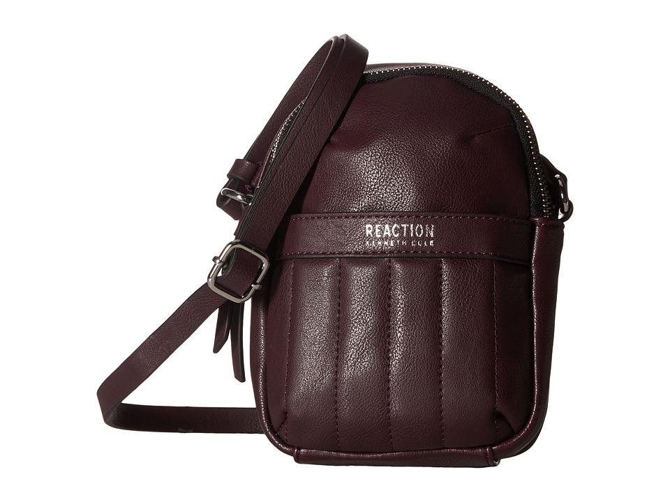 Kenneth Cole Reaction - Call For Back Up Crossbody w/ RFID (Blackberry) Cross Body Handbags
