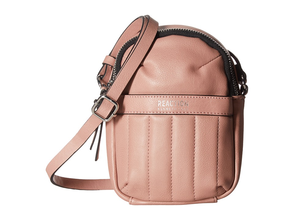 Kenneth Cole Reaction - Call For Back Up Crossbody w/ RFID (Pink Mist) Cross Body Handbags