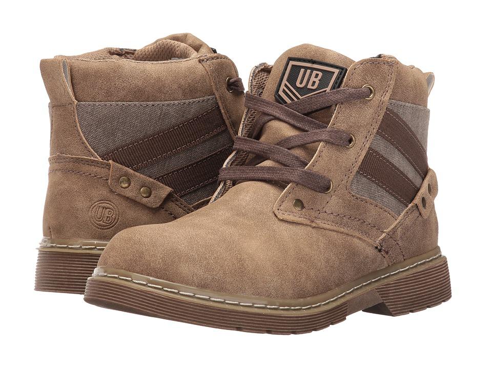 UNIONBAY Kids Steeler High Top Sneaker (Toddler/Little Kid/Big Kid) (Brown) Boy