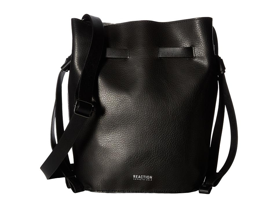 Kenneth Cole Reaction - Drawing Room Drawstring (Black) Drawstring Handbags