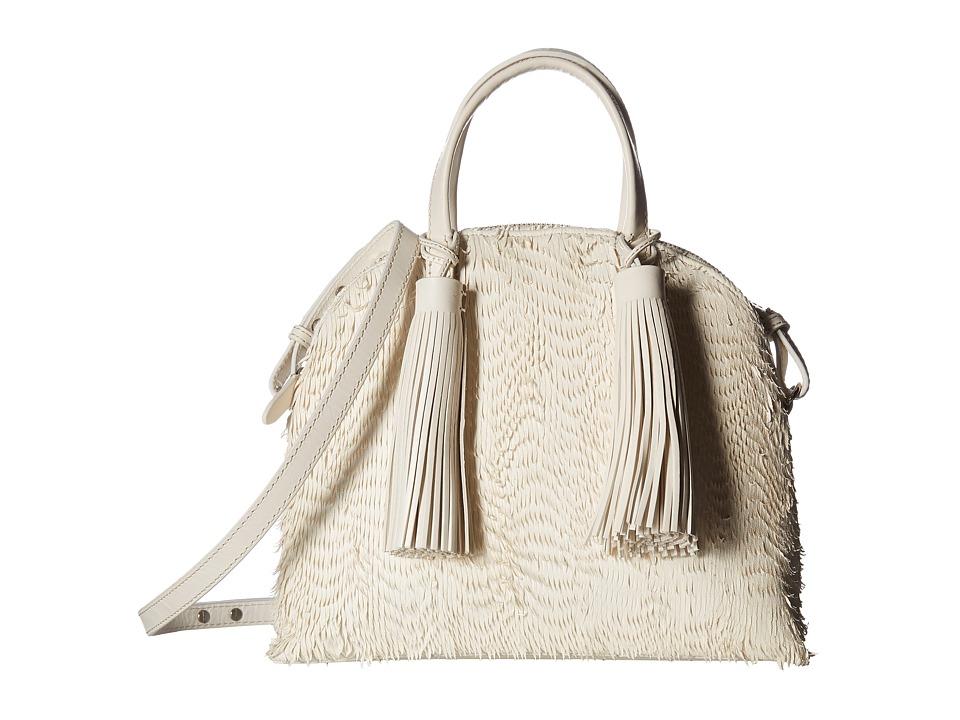 Loeffler Randall - Dome Satchel (Ivory/Ivory) Satchel Handbags