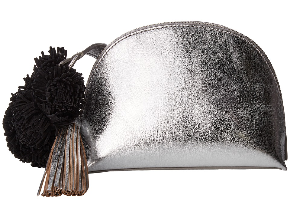 Loeffler Randall - Crossbody Pouch (Silver/Black) Cross Body Handbags