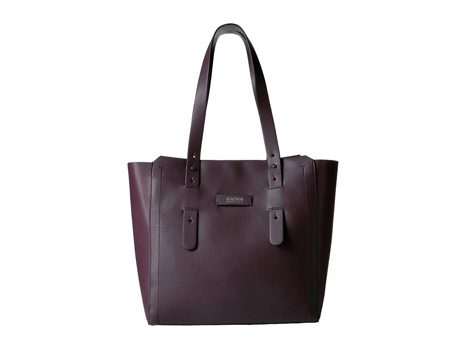 Kenneth Cole Reaction - Pull Through Tote (Blackberry) Tote Handbags