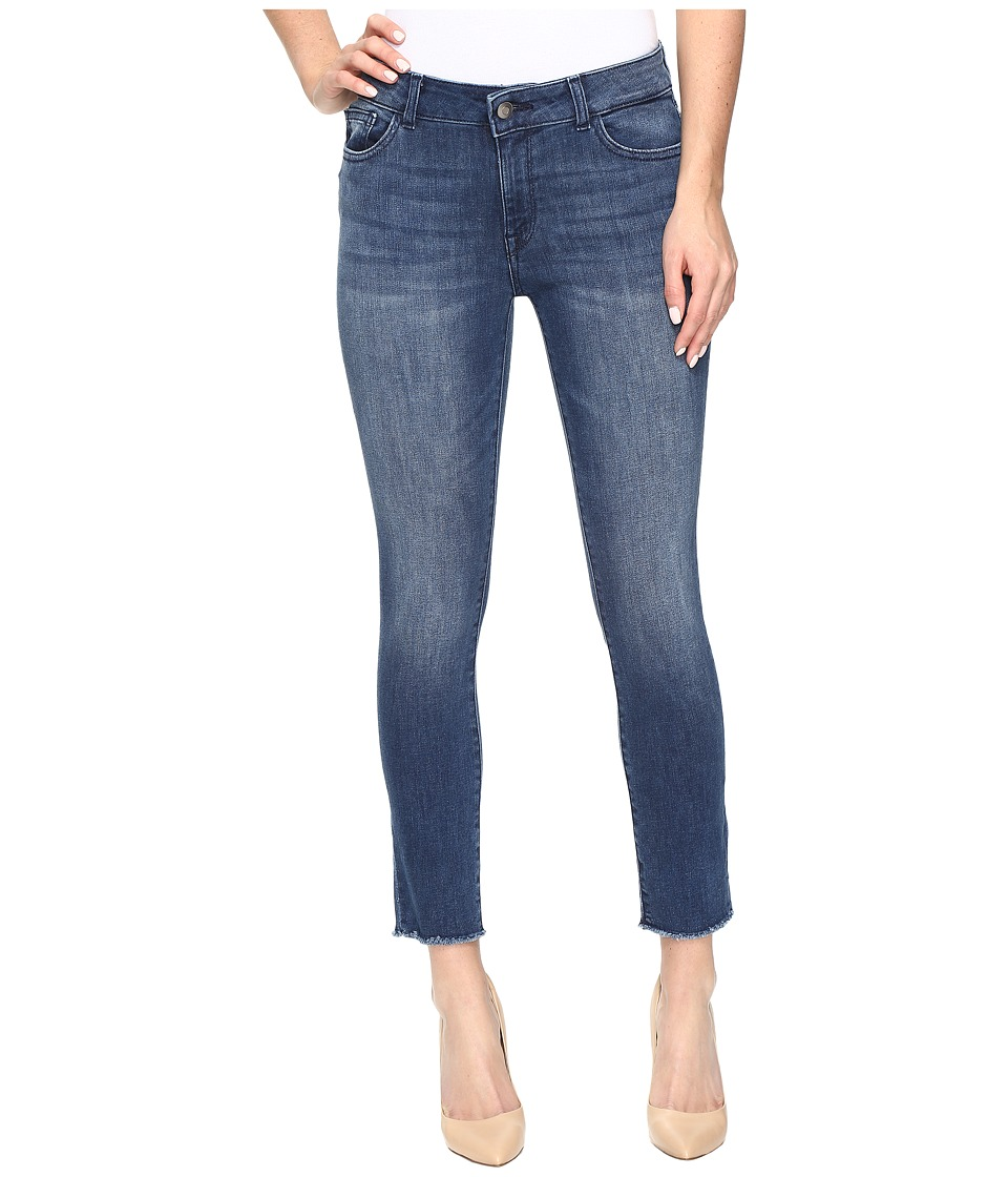 DL1961 - Florence Instasculpt Cropped in Stranded (Stranded) Women's Jeans