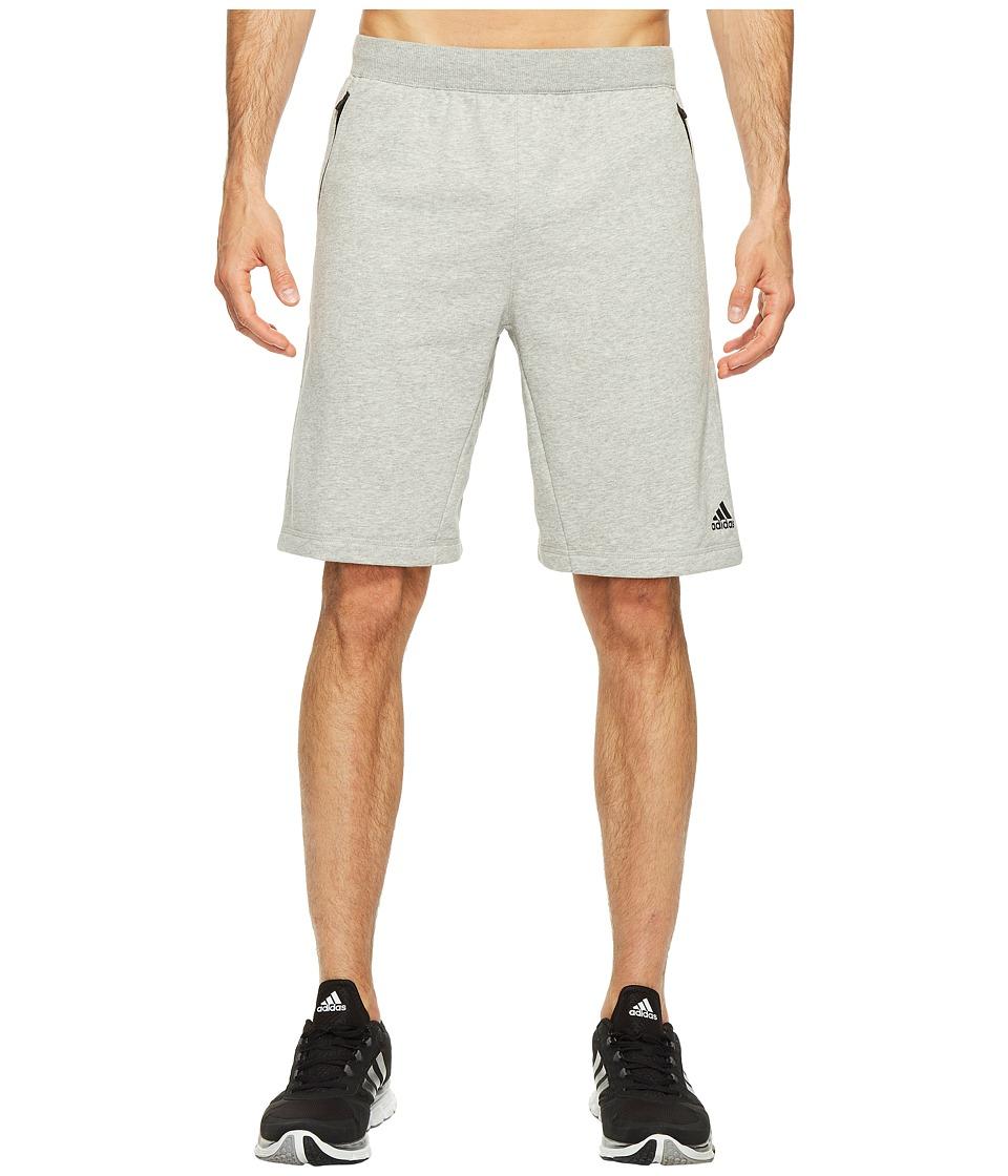 adidas - Sport ID French Terry Shorts (Medium Grey Heather) Men's Shorts