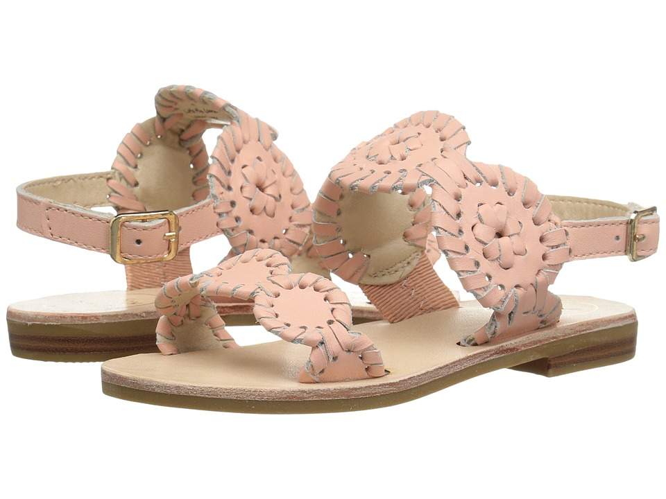 Jack Rogers - Little Miss Lauren (Toddler/Little Kid) (Blush) Women's Sandals