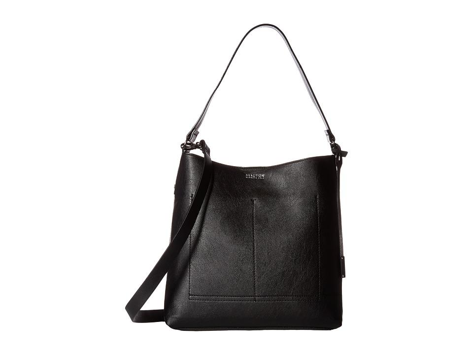 Kenneth Cole Reaction - Linebacker Hobo (Black) Hobo Handbags