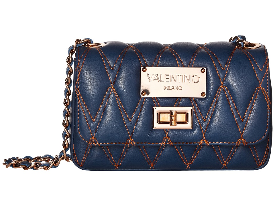 Valentino Bags by Mario Valentino - Noelled (Blue Denim) Handbags
