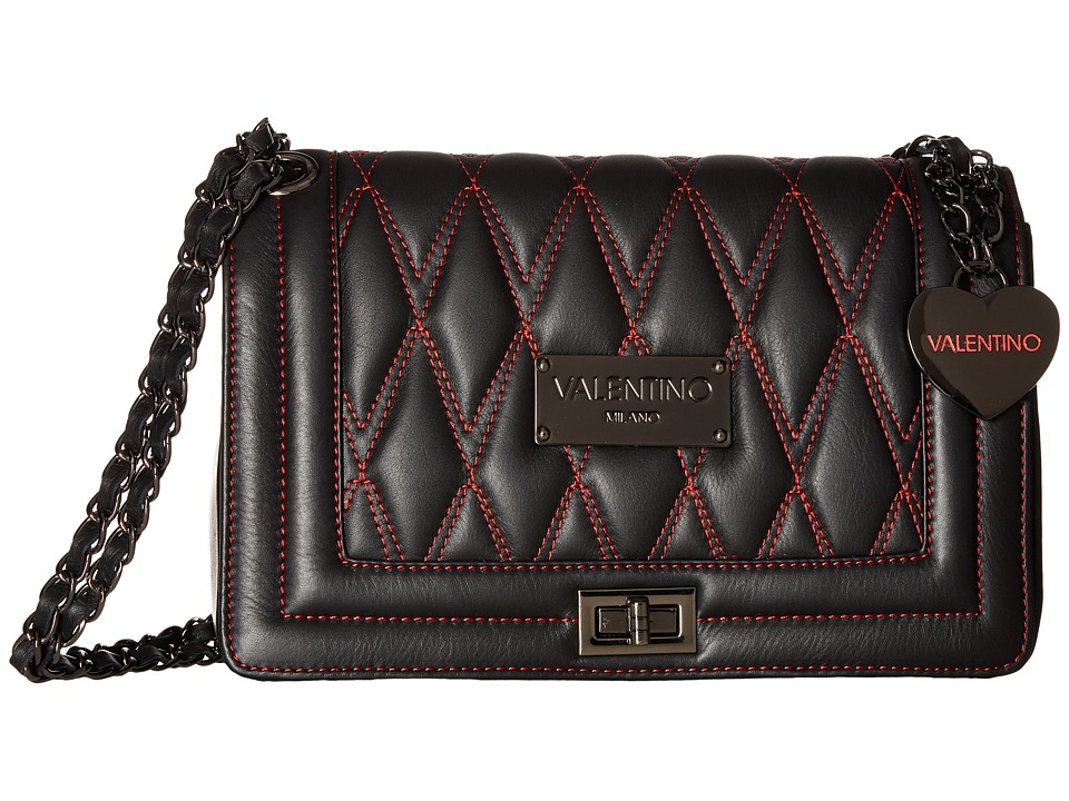 Valentino Bags by Mario Valentino - Alice D (Black) Handbags