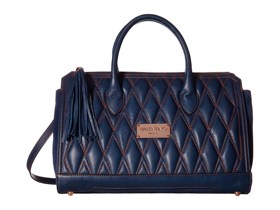 Valentino Bags by Mario Valentino - Clauded (Blue Denim) Handbags