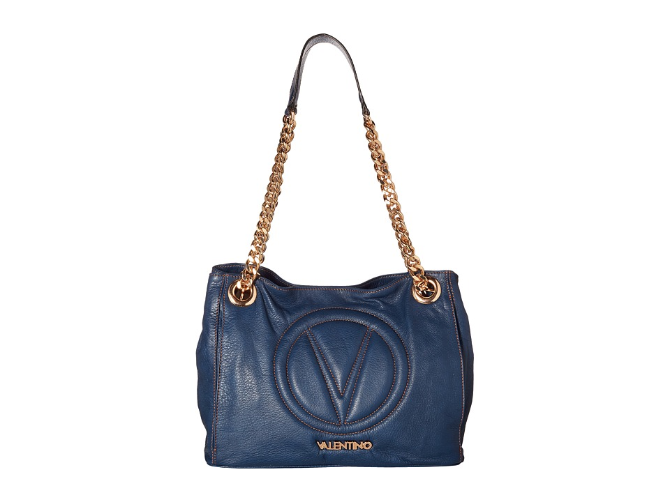 Valentino Bags by Mario Valentino - Luisa 2 (Blue Denim) Handbags