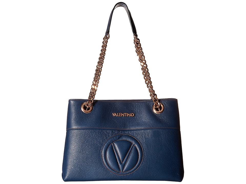 Valentino Bags by Mario Valentino - Karina (Blue Denim) Handbags