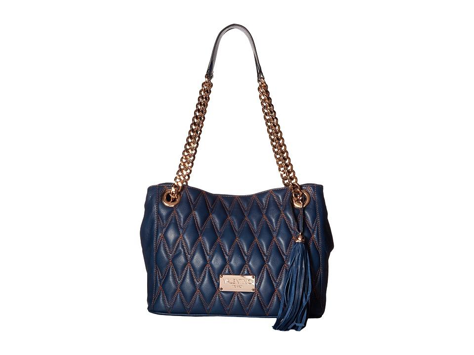 Valentino Bags by Mario Valentino - Luisad (Blue Denim) Handbags