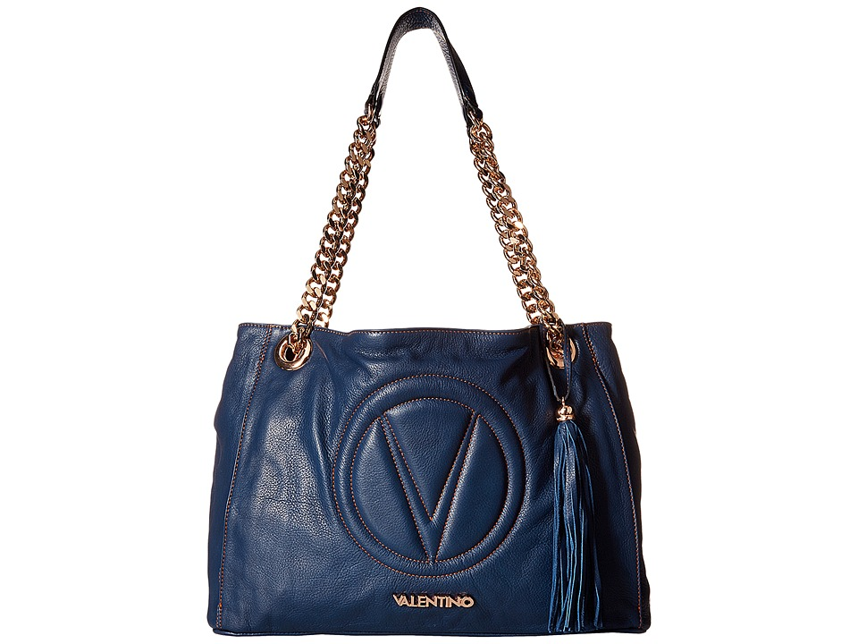 Valentino Bags by Mario Valentino - Verra (Blue Denim) Handbags