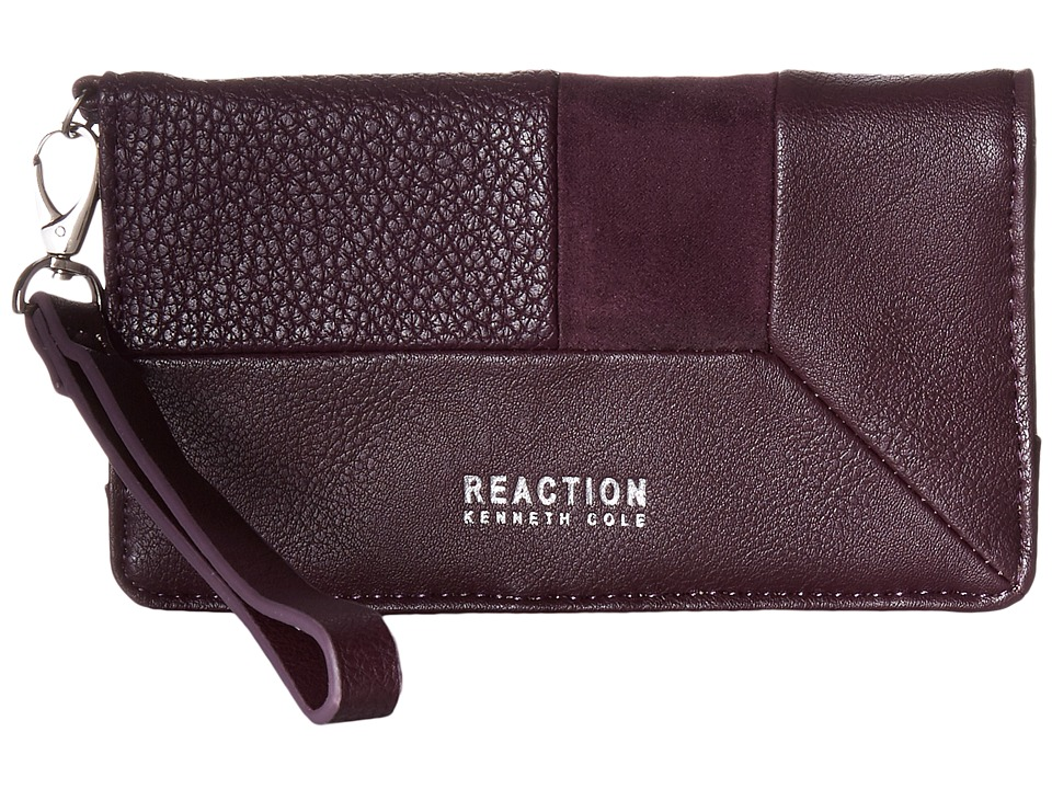 Kenneth Cole Reaction - Off Center Tech Phone Wristlet w/ RFID (Blackberry) Wristlet Handbags