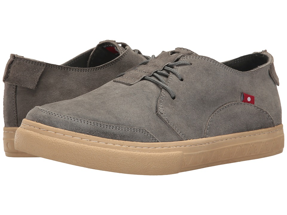 Oliberte - Anbesso (Grey Suede) Men's Lace up casual Shoes