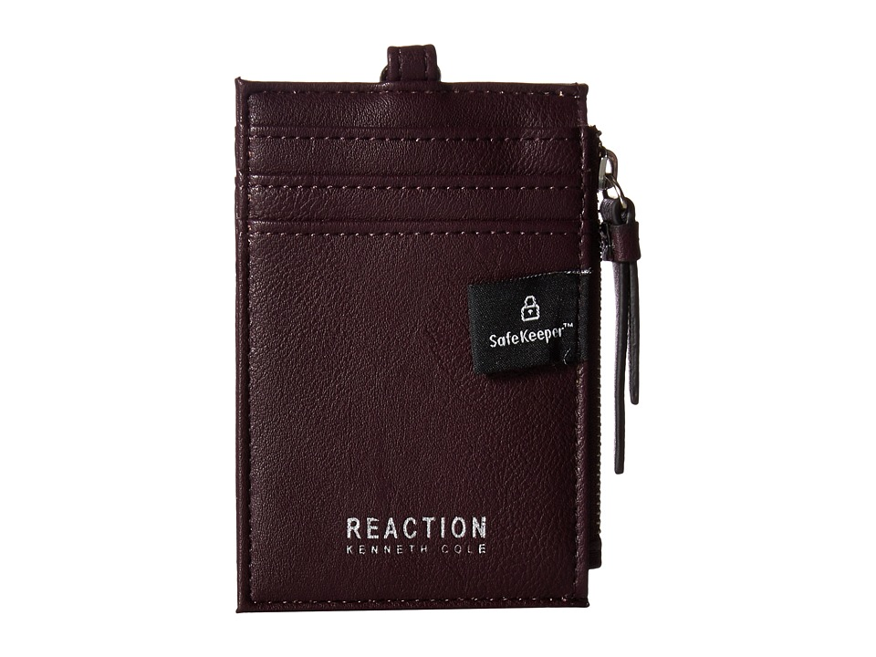 Kenneth Cole Reaction - Core Lanyard w/ RFID Blocking (Blackberry) Handbags