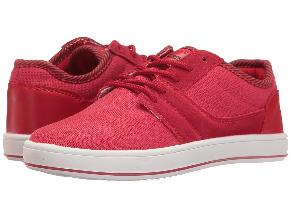 UNIONBAY Kids Anson Sneaker (Toddler/Little Kid/Big Kid) (Red) Boy