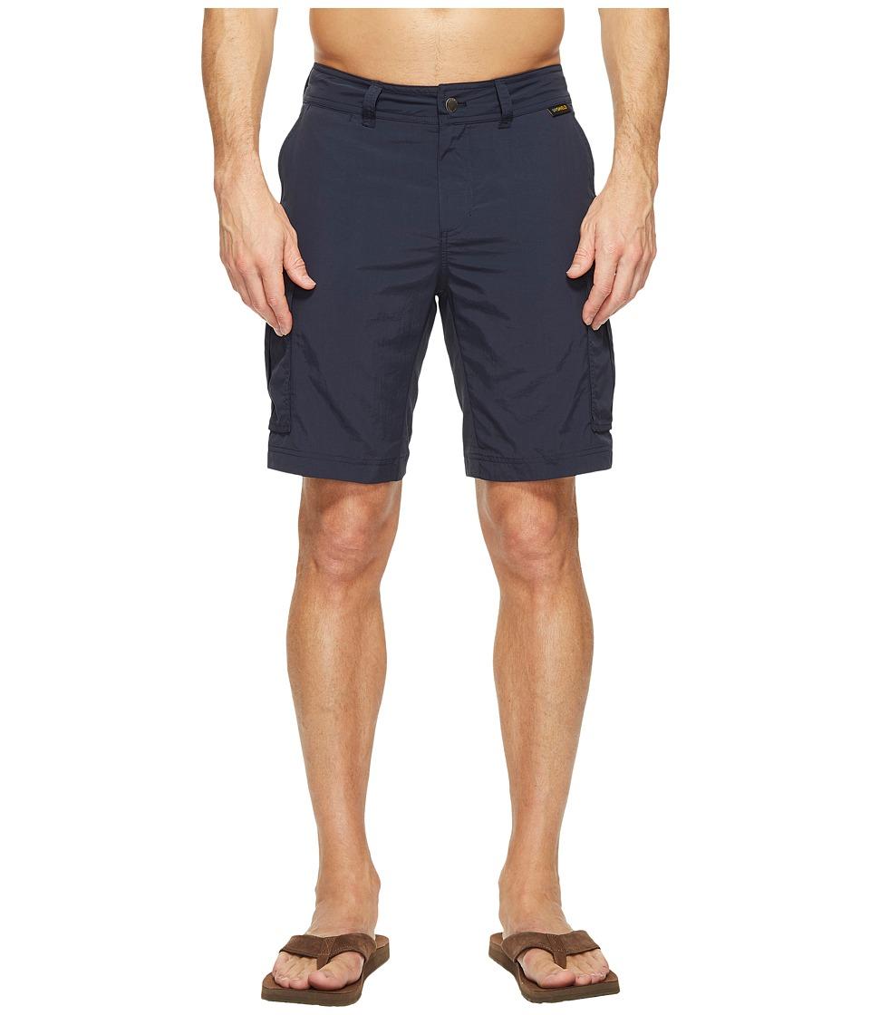 Jack Wolfskin - Canyon Cargo Shorts (Night Blue) Men's Shorts