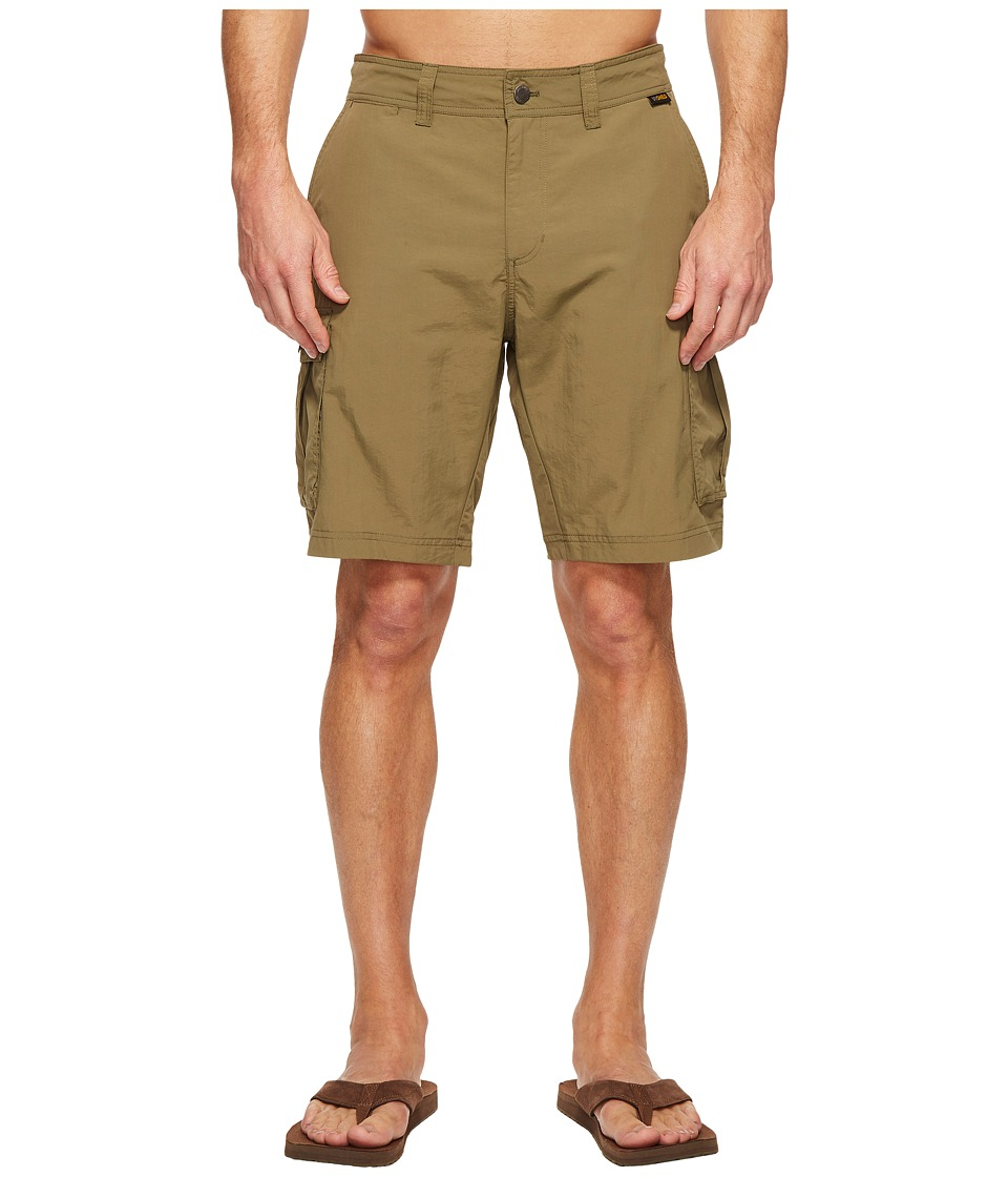 Jack Wolfskin - Canyon Cargo Shorts (Burnt Olive) Men's Shorts