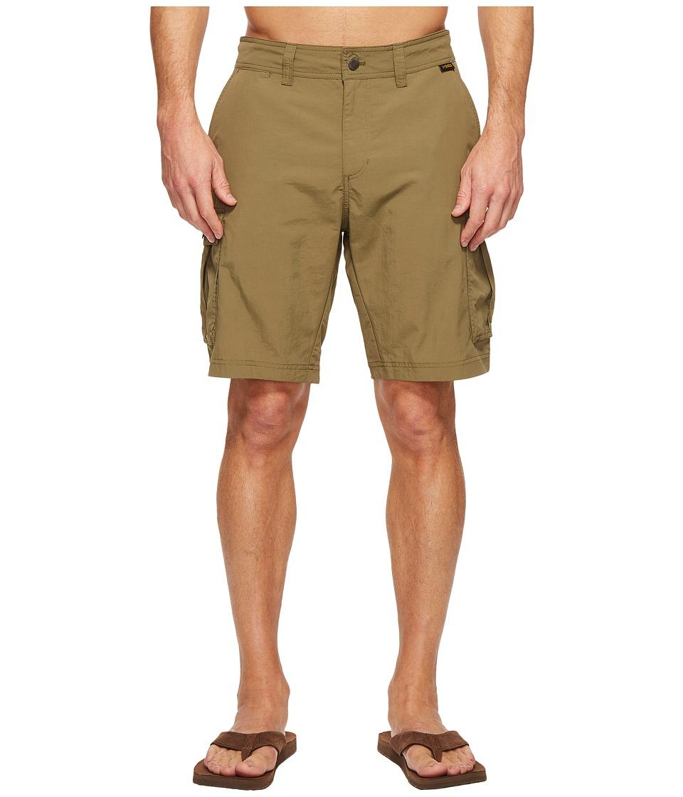 Jack Wolfskin - Canyon Cargo Shorts (Burnt Olive) Men's Shorts