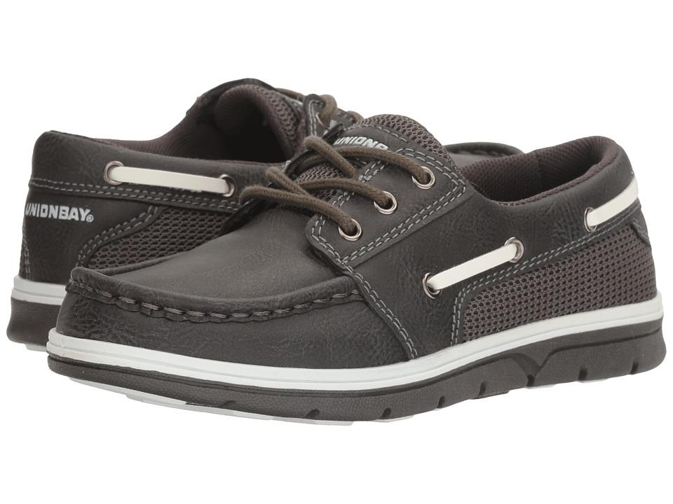 UNIONBAY Kids - Coral Slip-On (Toddler/Little Kid/Big Kid) (Dark Gray) Boy's Shoes