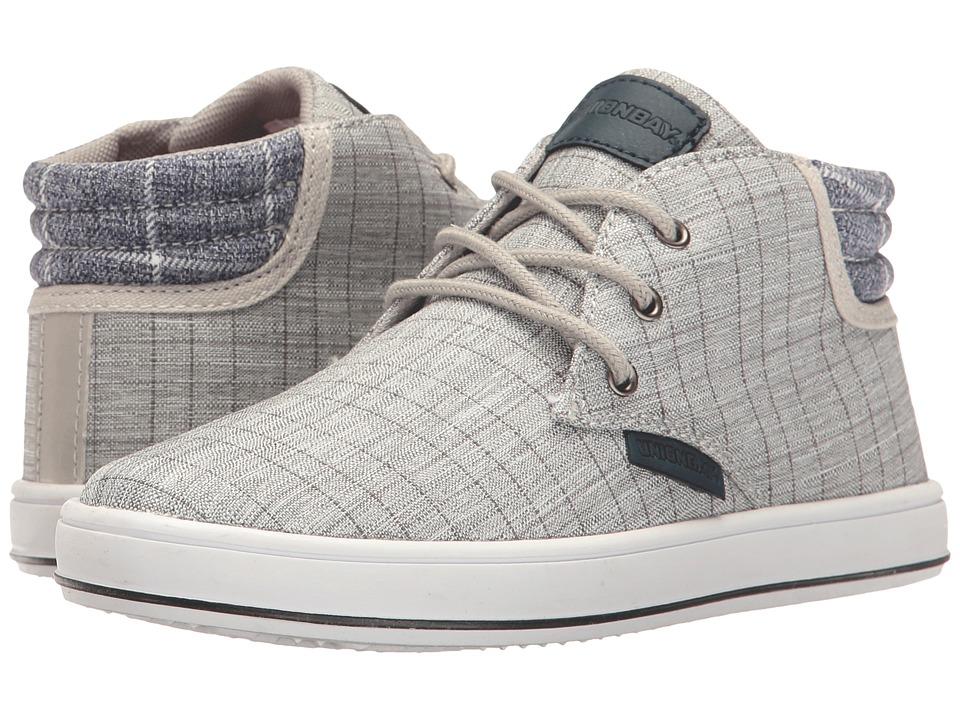 UNIONBAY Kids - Fern High Top Sneaker (Toddler/Little Kid/Big Kid) (Gray) Boy's Shoes