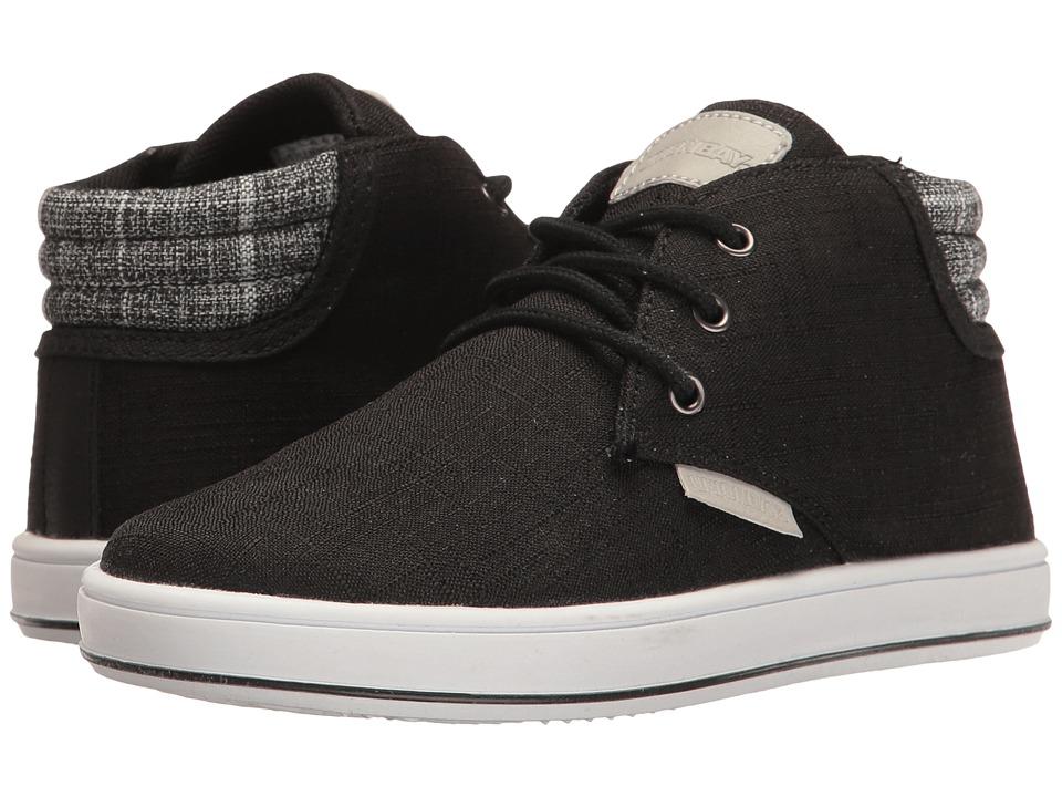 UNIONBAY Kids Fern High Top Sneaker (Toddler/Little Kid/Big Kid) (Black) Boy