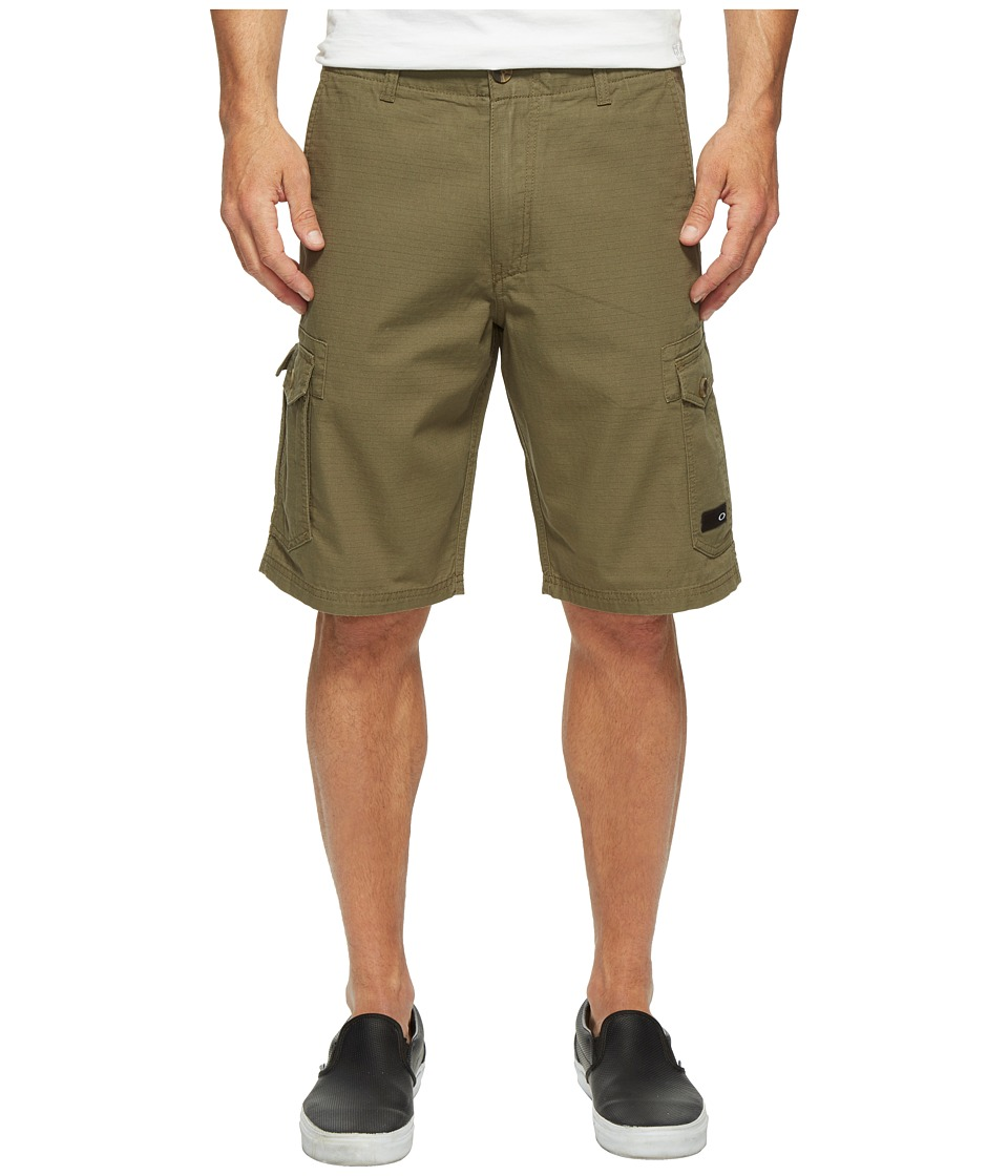 Oakley - Foundation Cargo Shorts (Dark Brush) Men's Shorts