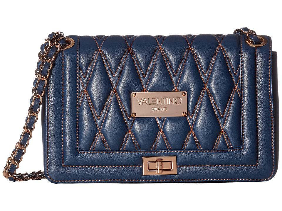 Valentino Bags by Mario Valentino - Aliced (Blue Denim) Handbags