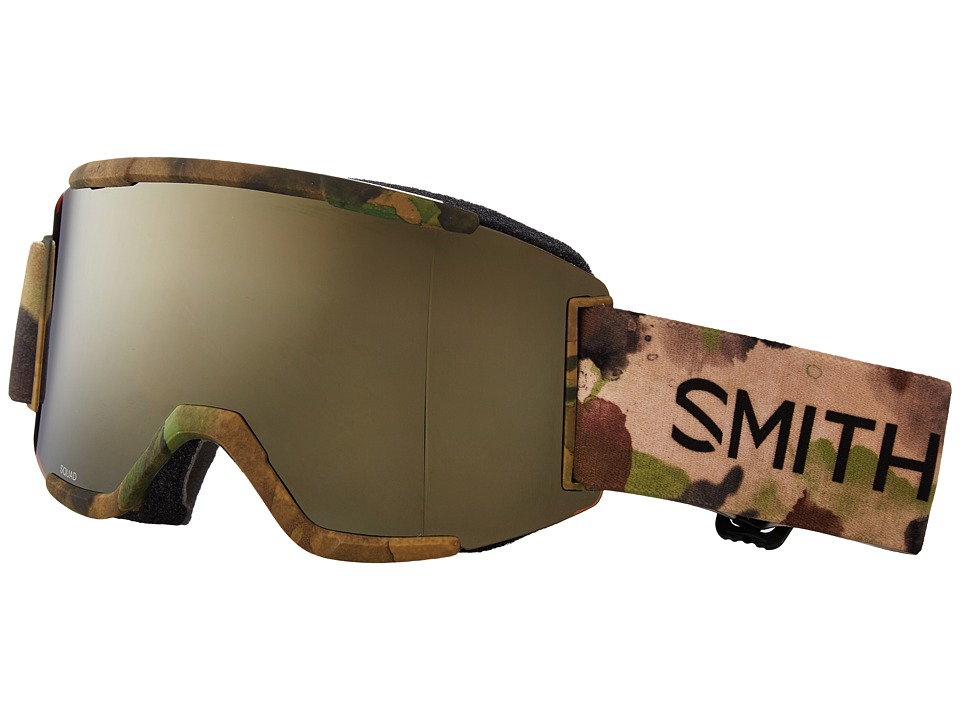 Smith Optics - Squad Goggle (Austin ID Frame/Gold Sol-X Mirror/Yellow Lens) Goggles