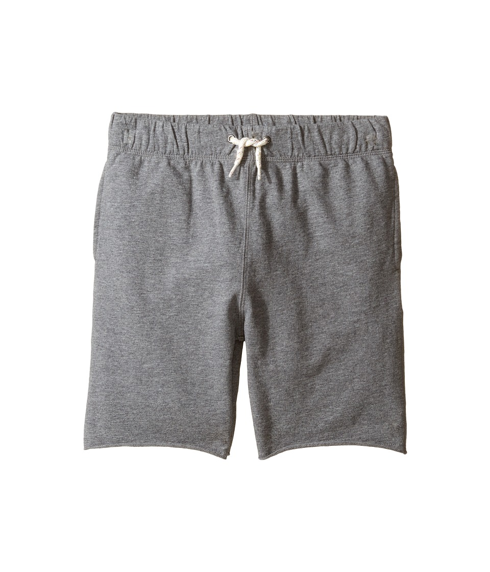 Appaman Kids - Super Soft French Terry Camp Shorts (Toddler/Little Kids/Big Kids) (Light Grey Heather) Boy's Shorts