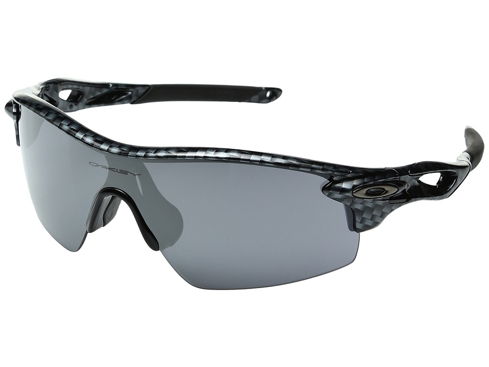 Oakley - Radarlock Pitch (Carbon Fiber/Black Iridium) Sport Sunglasses