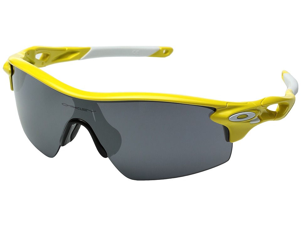 Oakley - Radarlock Pitch (Team Yellow/Black Iridium) Sport Sunglasses