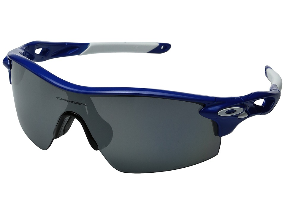 Oakley - Radarlock Pitch (Team Blue/Black Iridium Polarized) Sport Sunglasses