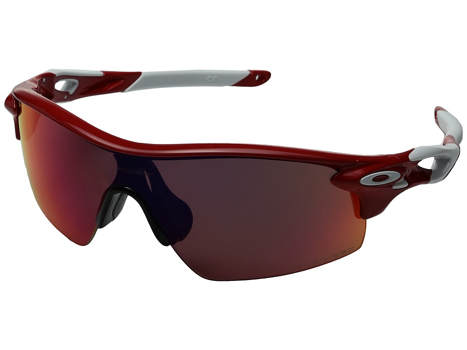 Oakley - Radarlock Pitch (Red/Red Polarized) Sport Sunglasses