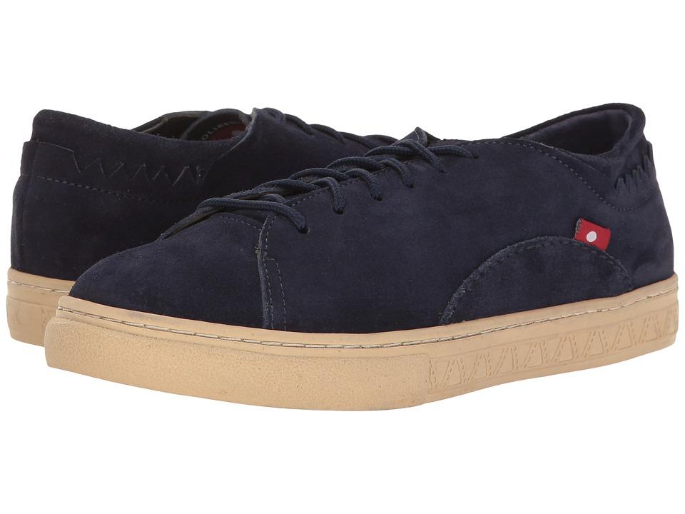 Oliberte - Minaka (Navy Suede) Women's Lace up casual Shoes