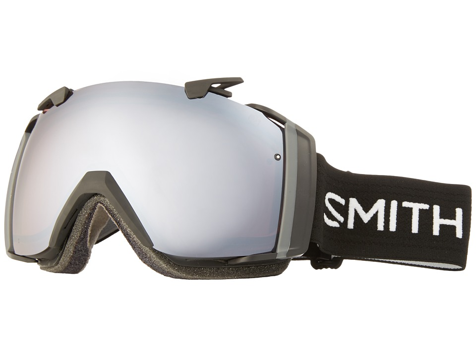Smith Optics - I/O Goggle (Black Frame/Ignitor Mirror/Red Sensor Mirror Lens) Goggles