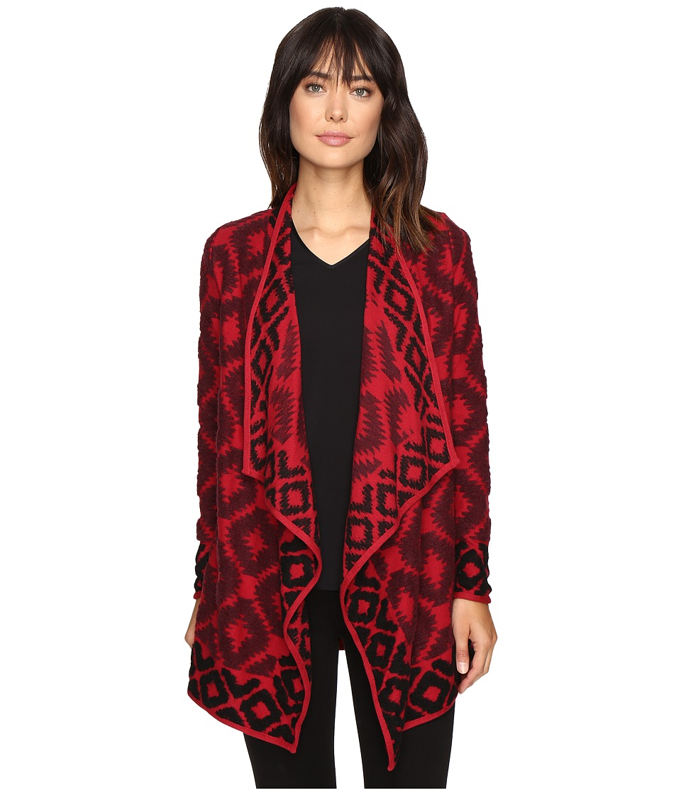 Lucky Brand - Aztec Wrap (Red Multi) Women's Clothing