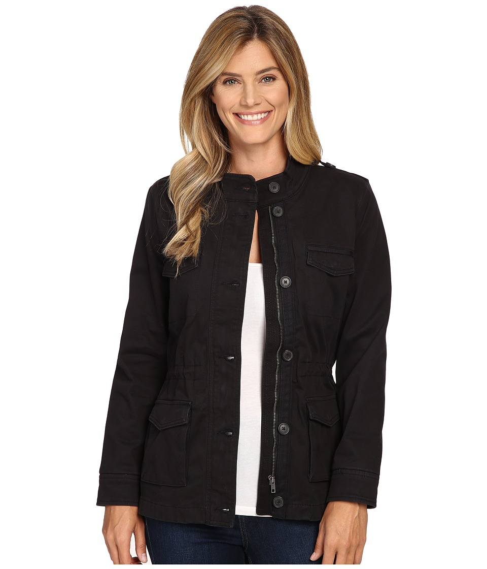 Lucky Brand - Core Military Jacket (Black Beauty) Women's Coat