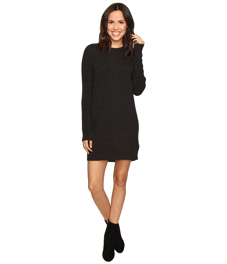 EQUIPMENT - Willy Mini Dress (Charcoal Heather Grey) Women's Dress