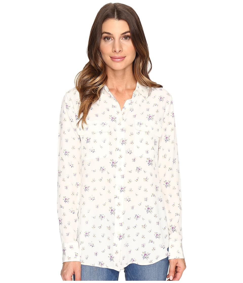 EQUIPMENT - Slim Signature (Nature White Multi) Women's Clothing